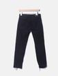 Jeans denim mon fit negro con corazones Zara