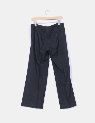 Pantalon de traje gris oscuro