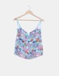 Top combinado floral Lefties