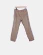 Pantalón de pinzas marrón Bershka