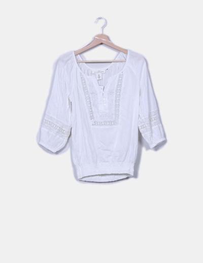 Blusón blanco H&M