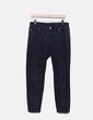 Jeans effetto denim nero effetto consumato Fornarina