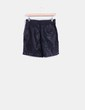 Short negro de polipiel ONLY