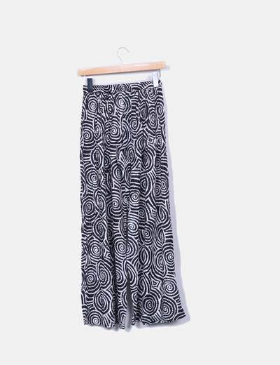 Pantalon baggy estampado
