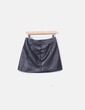 Falda negra midi H&M