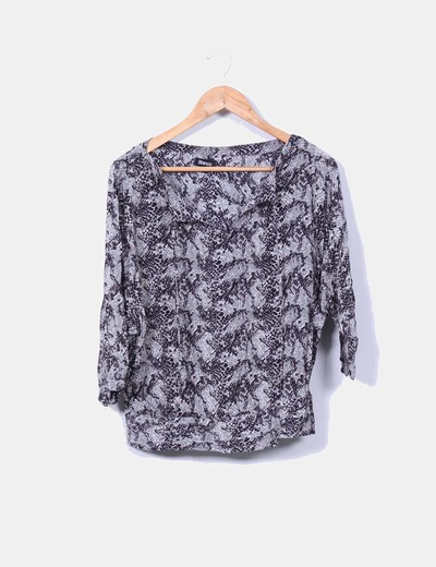Blusa animal print Suiteblanco