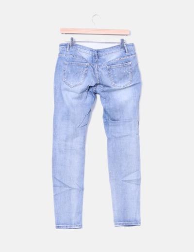 Jeans estampado estrellas