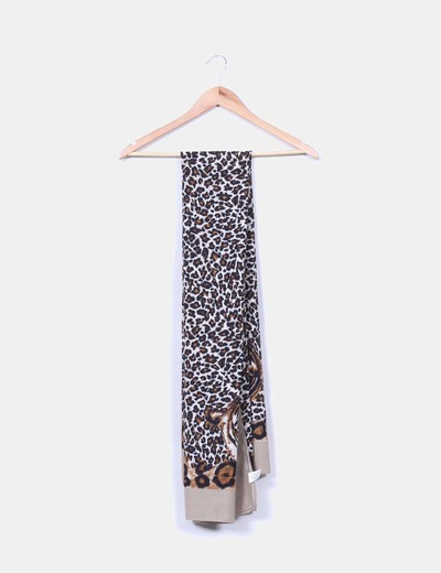 Panuelo estampado animal print