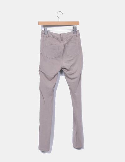 Leggings combinado gris