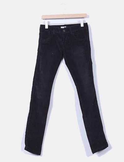 Pantalón de pana pitillo Zara