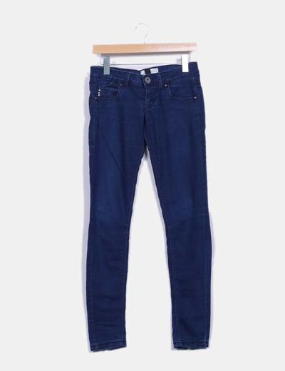 Jeans denim pitillo Bershka