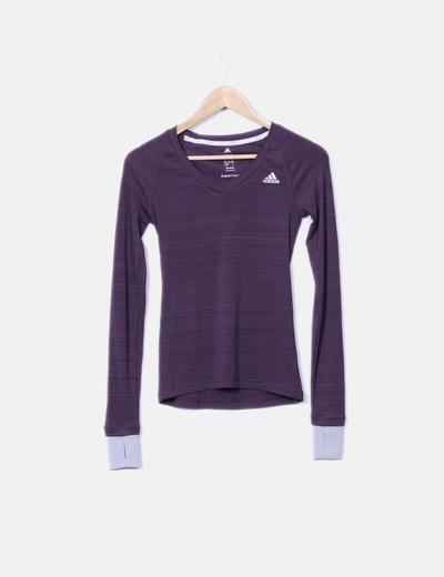 Adidas Camisa esporte de manga longa (desconto de 80%) - Micolet 8930e348a688c