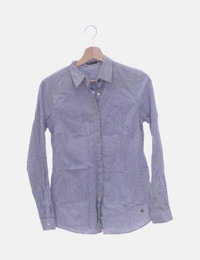 Camisa de rayas con manga larga