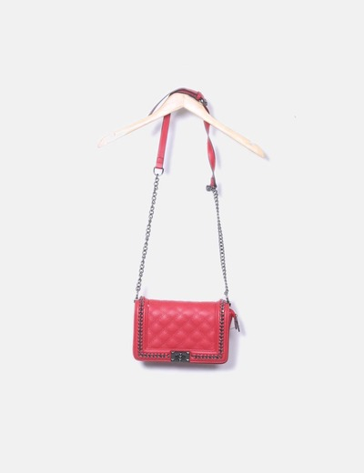 Red bag with chain Hella´s