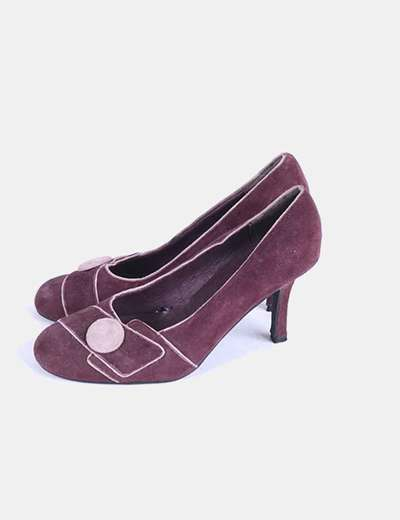 Zapato burdeos Tex Woman
