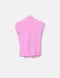 Camisa rosa con raya blanca Stradivarius