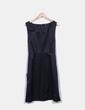 Vestido negro saten H&M