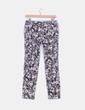 Pantalón chino estampado floral Benetton
