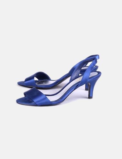 Sandales à talons en satin Zara