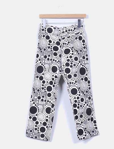 Pantalón estampado retro South Beach Jeans