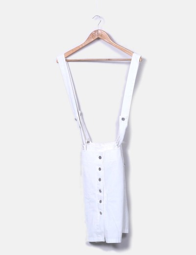 Falda pichi blanca