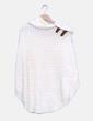 Poncho tricot beige Massimo Dutti
