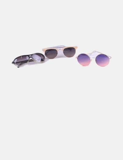 Set of 3 pairs of glasses NoName