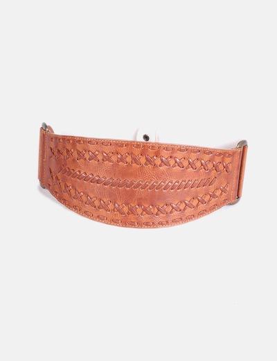 Cinturón combinado camel NoName