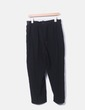 Black baggy trousers with elastic waist NoName