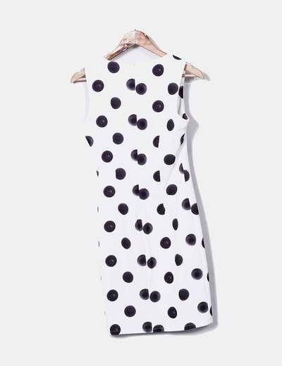 Guess Vestido branco com bolinhas pretas (desconto de 75%) - Micolet aebb545ab6