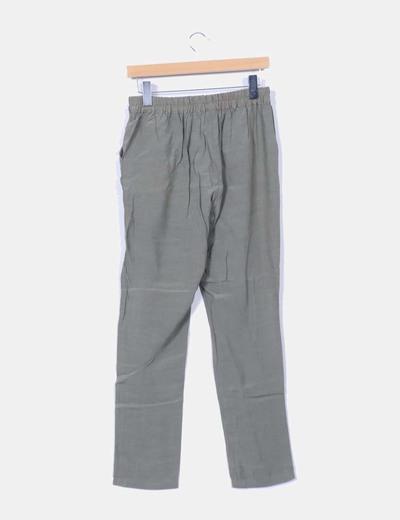 Pantalon baggy verde militar
