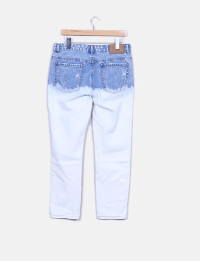 Jeans denim bicolor