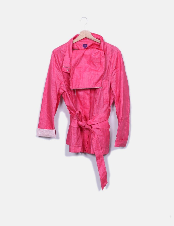 rosa online Chaquetas y impermeable Adolfo de Abrigos Chaqueta SwTWq8yv