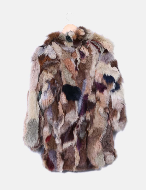 ... Mujer zorro NoName de online Chaquetas pelo de y Abrigo Abrigos  multicolor baratos q67xfIEnwz e0fd44d975b8