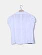 Camisa blanca detalle bolsillos Zeta Moda