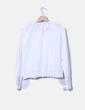 Blusa blanca manga larga Zara