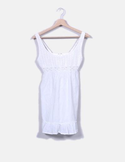 4a437b84bb52 Bershka Lange weiße Bluse (Rabatt 84 %) - Micolet