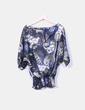 Camisa satinada con estampado Cerezas