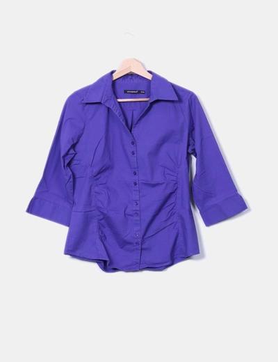 Camisa morada Atmosphere