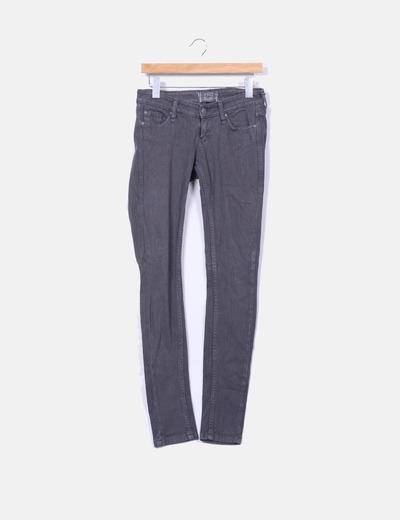 Jeans grises Bershka