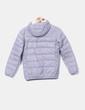 Chaqueta acolchada gris Pull&Bear