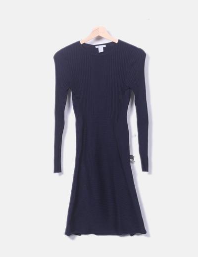 Vestido azul marino canale