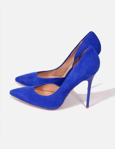 Zapatos de tacón azul Klein Buffalo