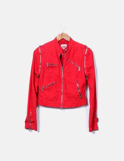 Veste motard Guess