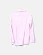 Camisa rosa con fruncido debajo del pecho Bershka