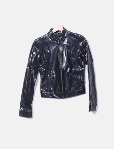 Biker jacket acharolada Zara