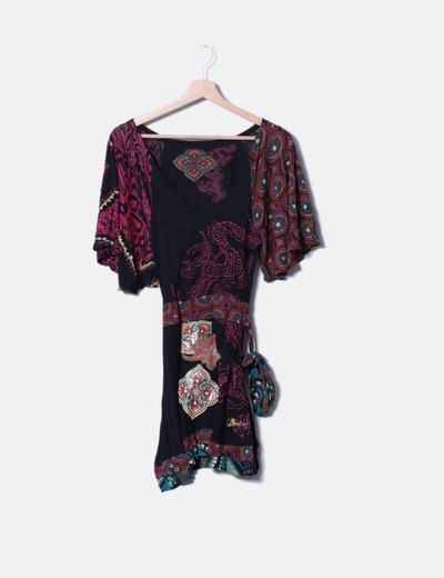 Robe print chinois Desigual