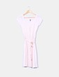 Vestido tricot rosa palo Naf Naf