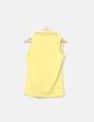 Blusa sin mangas amarillo Massimo Dutti