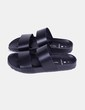 Chanclas tiras negras  Pieces